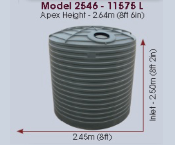 Model 2546 Gallon 11575 Litre Water Tank