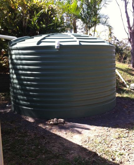 water tank custom installation remote